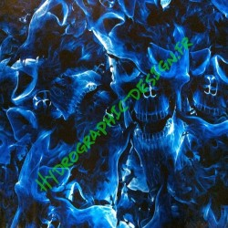 Flammes Bleu 02