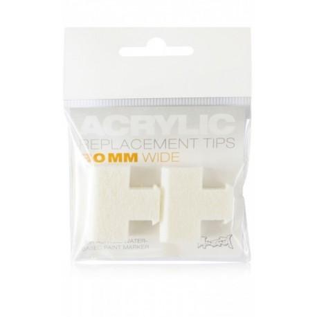 Sachet de 2 mines pour MARQUEUR ACRYLIC 30mm
