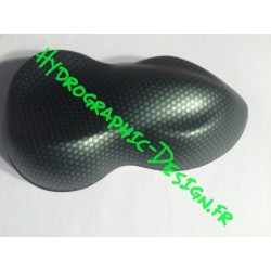 Film Hydrographic Carbone Chrome Vert