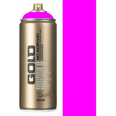 Peinture Fluorescente Montana Cans - Gleaming Pink