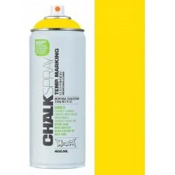 Peinture Temporaire Montana Cans CHALK - Yellow